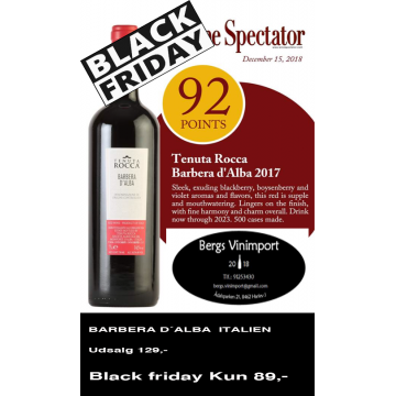 Black Friday Bergs Vinimport